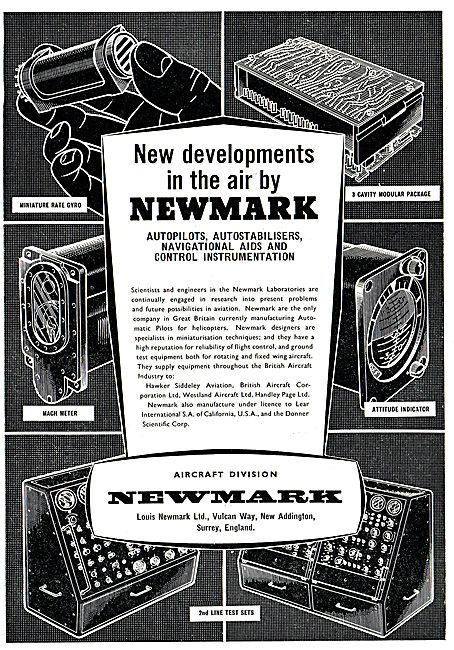Louis Newmark Mach Meter