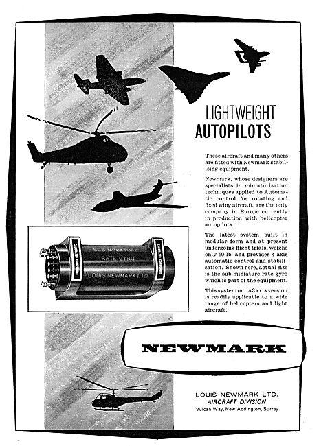 Newmark Lightweight Autopilots
