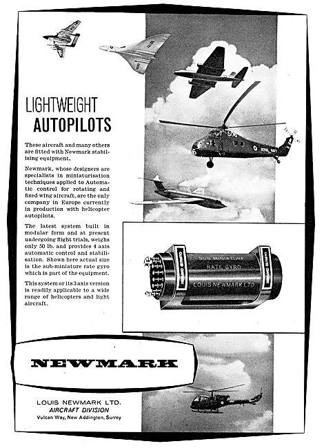 Newmark Lightweight Helicopter Autopilots