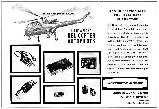 Newmark Helicopter Autopilots
