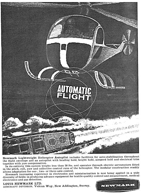 Newmark Helicopter Autopilot 1964