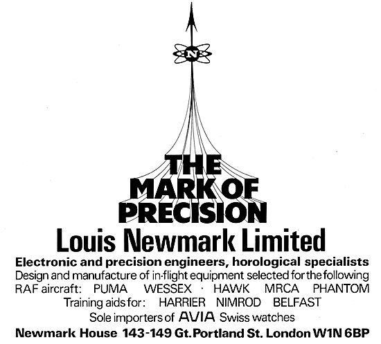 Louis Newmark Electronic & Precision Engineers 1976