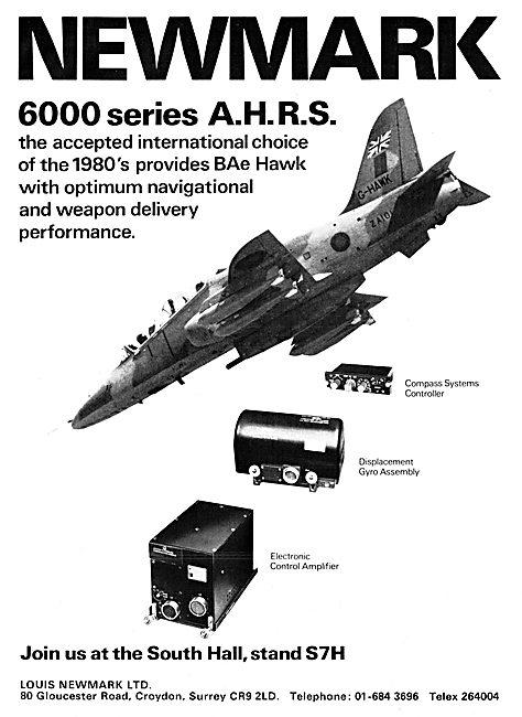 Newmark 6000 Series AHRS