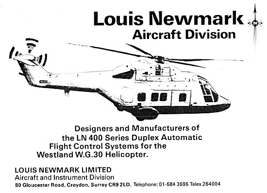Newmark Helicopter Flight Control Systems