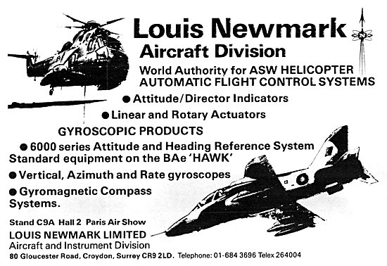 Louis Newmark Helicopter Flight Control Systems