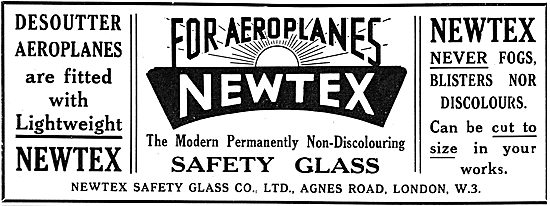 Newtex Safety Glass For Aircraft