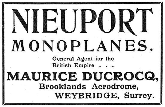 Nieuport Monoplanes