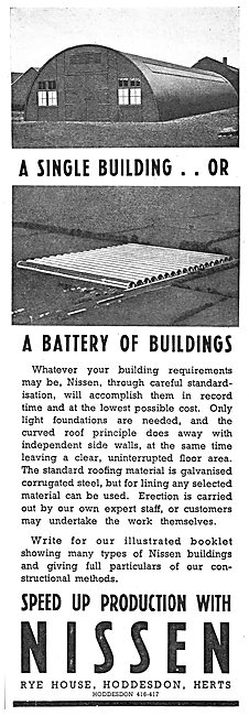 Nissen Buildings - Hangars & Airfield Buildings