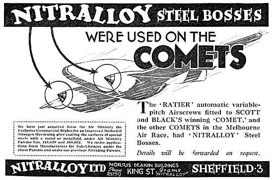 Nitralloy Steels - Nitriding