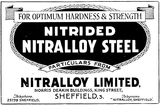 Nitralloy Nitrided Steels