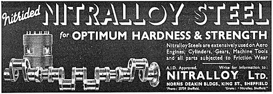Nitralloy Steels - Nitrided Steel
