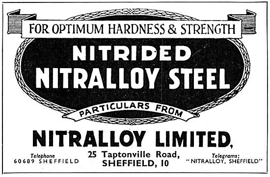 Nitrided Nitralloy Steel