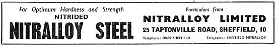 Nitralloy Steels