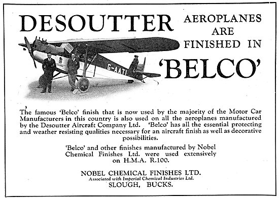 Desoutter Aircraft Are Finsihed With Nobel Belco