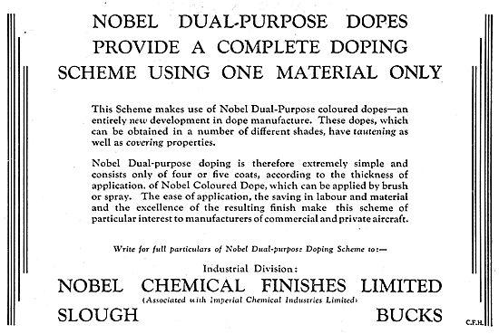 Nobel Aircraft Dopes & Finishes