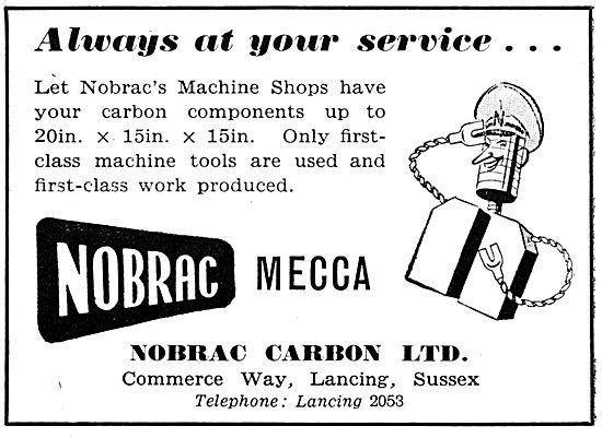 Nobrac Carbons MECCA  AGROBRAC  HY-ALT  BRACSEAL