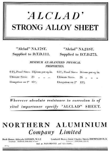 Northern Aluminium - Aluminium Alloys. Alclad