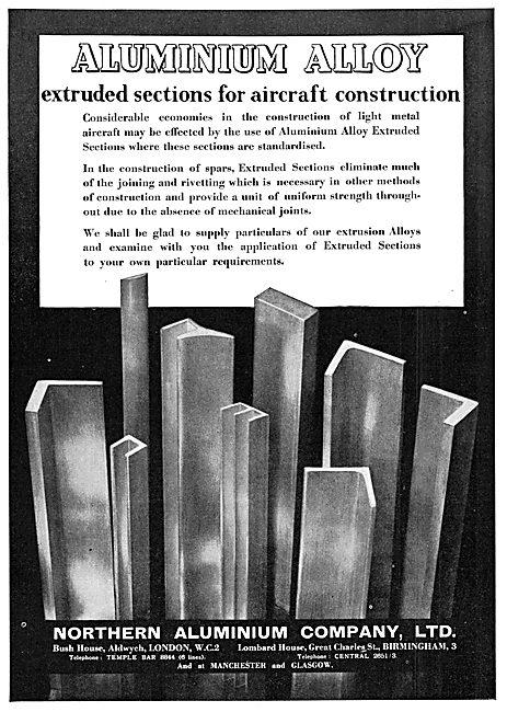 Northern Aluminium - Aluminium Alloys Extruded Sections