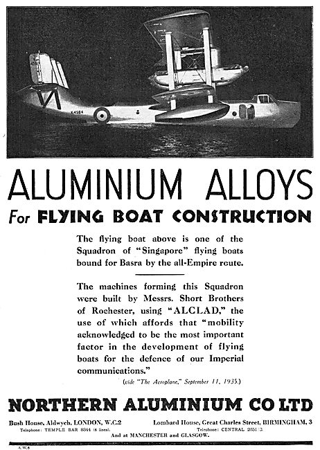 Northern Aluminium Alclad- Supermarine