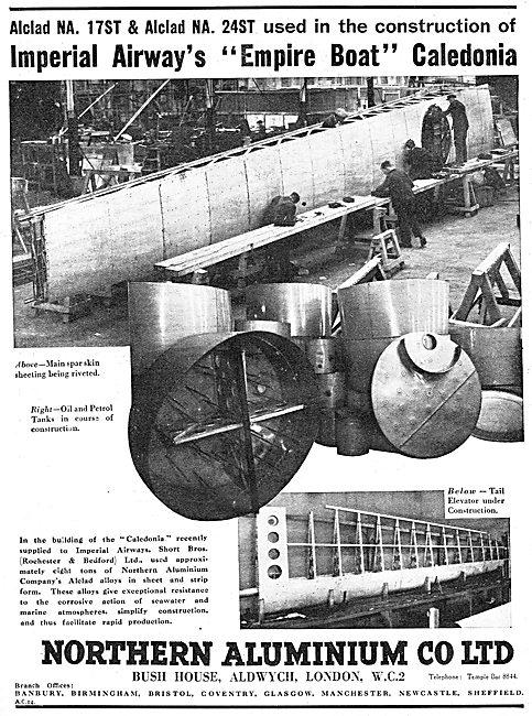 Northern Aluminium - Alclad NA 17ST . Alclad NA 24ST