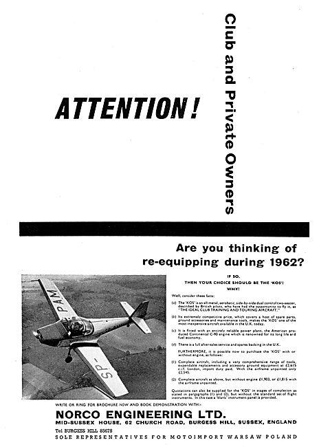 Norco Engineering Ltd : Motoimport KOS Aircraft