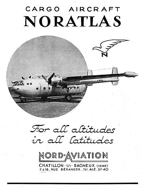Nord Aviation Noratlas Transport Aircraft