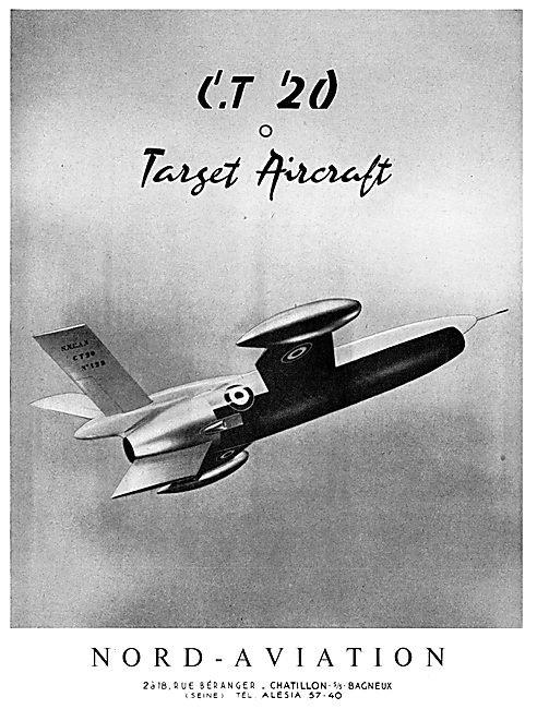 Nord Aviation CT 20 Target Aircraft
