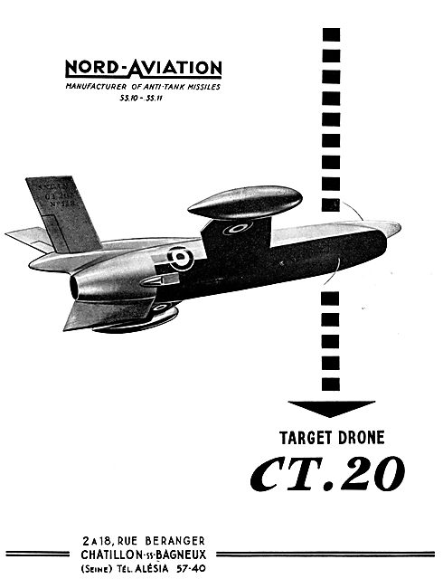 Nord Aviation CT20 Target Drone