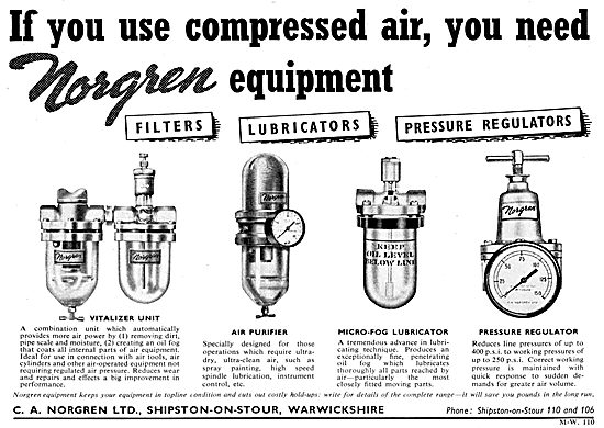 Norgren Industrial Compressed Air Equipment