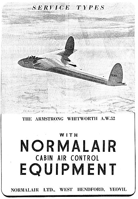 Normalair Cabin Atmosphere Control Systems - 1949