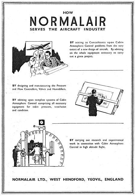 Normalair Cabin Atmosphere Control 1950