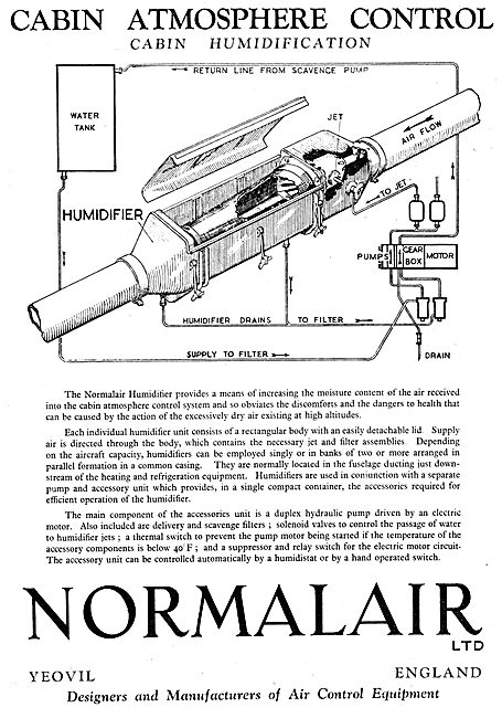 Normalair Cabin Atmosphere Control Equipment