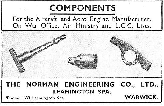 Norman Engineering Aircraft Components - Leamington Spa