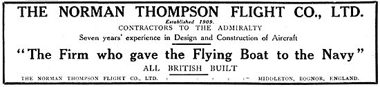 Norman Thompson Flying Boat Constructors
