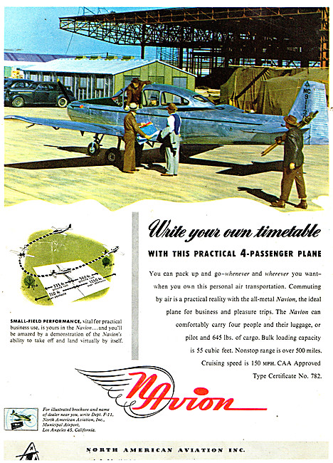 North American Aviation Navion