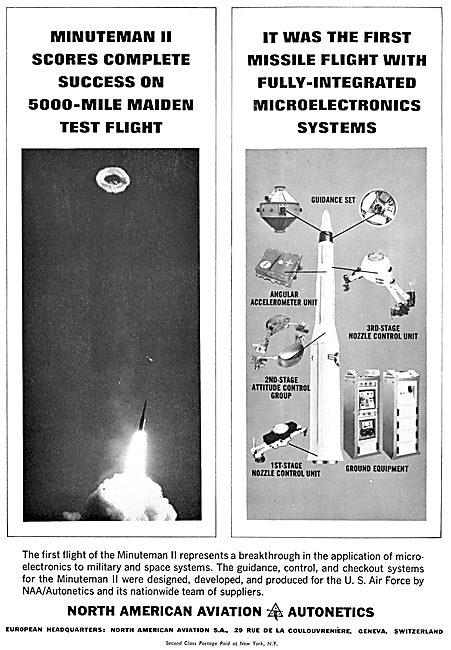 North American Aviation - Minuteman II