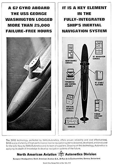 North American Aviation - Autonetics Inertial Navigation Systems