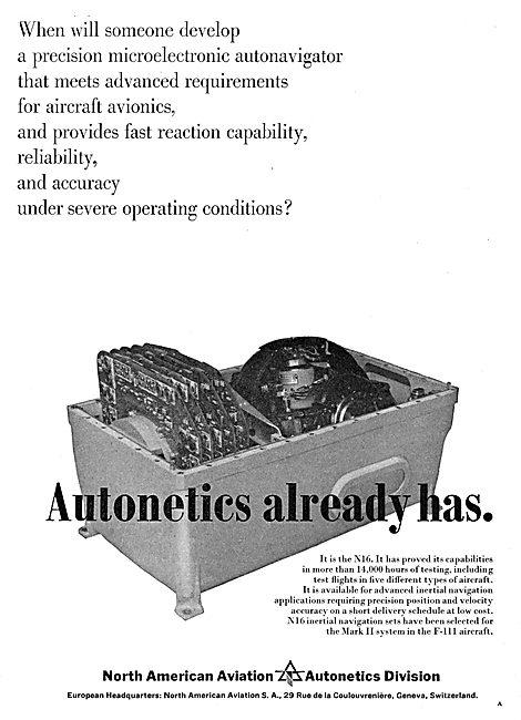 North American Aviation - Autonetics - INS