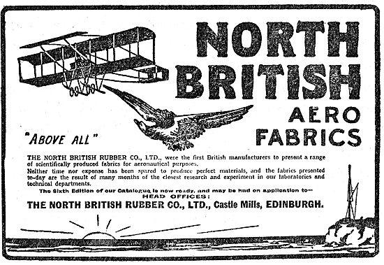 North British Rubber Co Aero Fabrics - Castle Mills Edinburgh