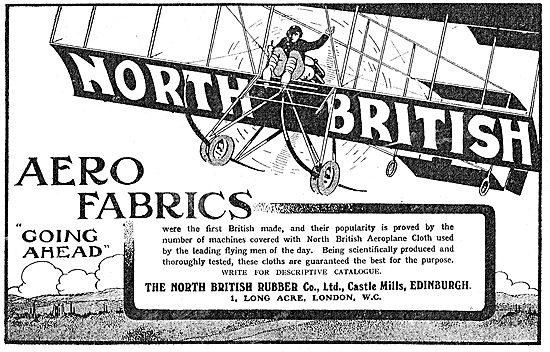North British Rubber Co - Aero Fabrics