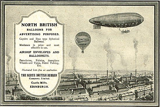 North British Rubber Company - Balloons For Advertising Purposes