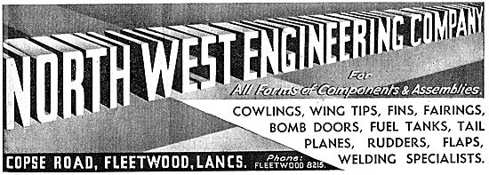 North West Engineering. Aircraft Components & Assemblies 1942 Ad
