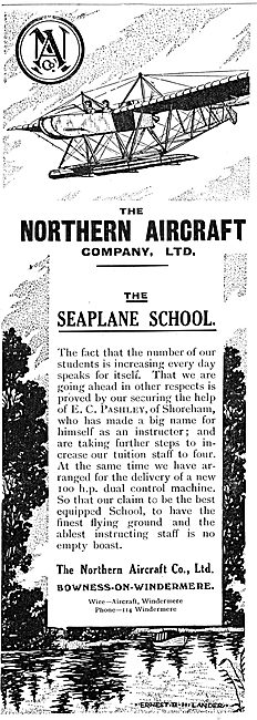 The Northern Aircraft Seaplane Flying School Windermere