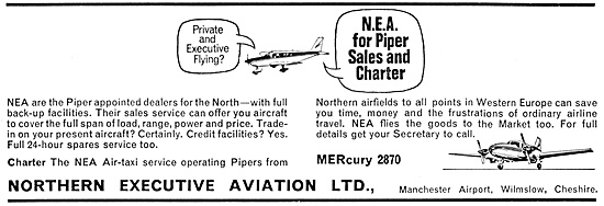 Northern Executive Aviation Manchester 1967