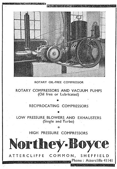 Northey-Boyce Air Compressors