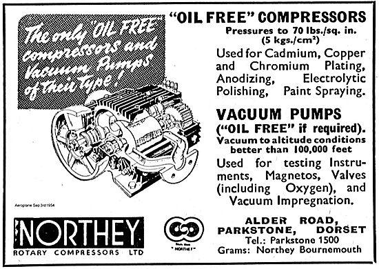 Northey Oil Free Compressors & Vacuum Pumps