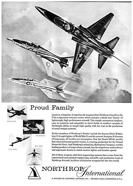 Northrop T38