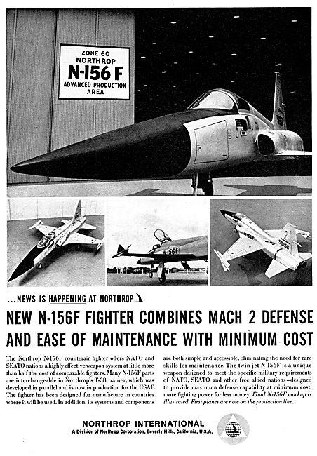 Northrop N-156F Freedom Fighter