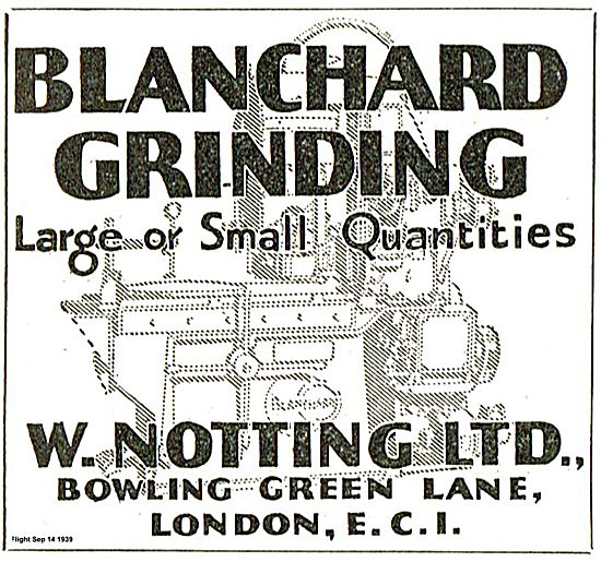 W.Notting Blanchard Grinding.