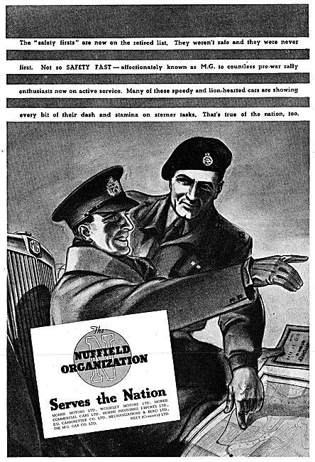 The Nuffield Organization 1942 Advert